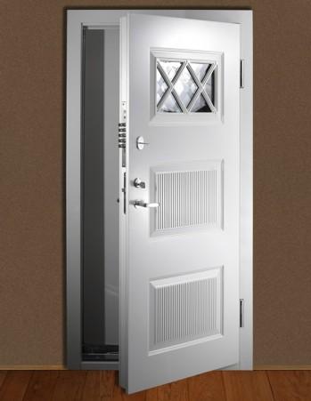 0119_Burglar resistant entrance door class 3 by EN1627-2011