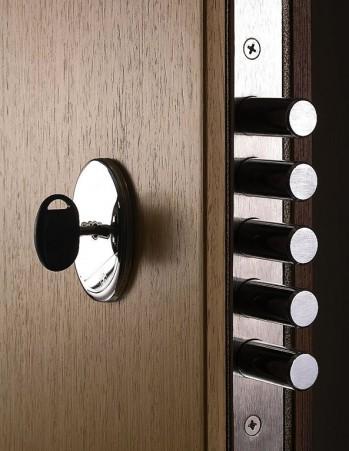 0155_Multipoint lock of security front door