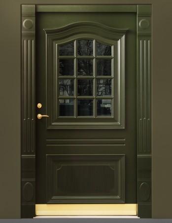 0073_Secure front door exact replication of previous door